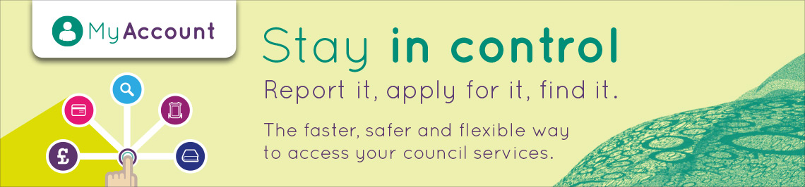 The faster, safer and flexible way to access your council services.